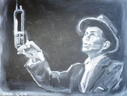 Sinatra (2004)  Acrylic 11x14