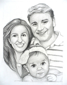 Cousin Mike's Family (2014)  Pencil