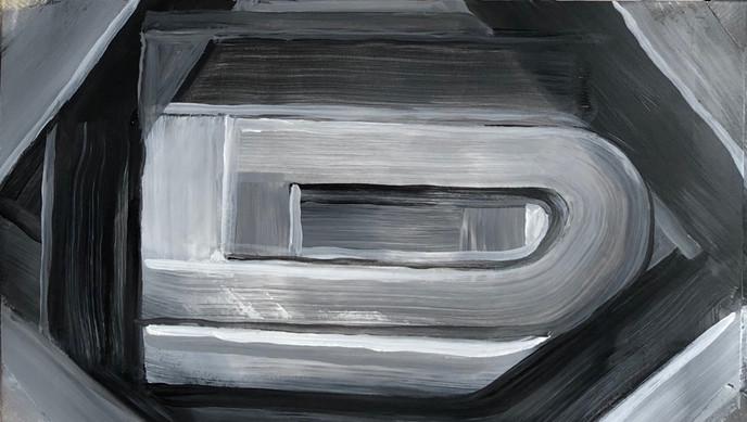 Abstract (2018) Acrylic