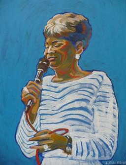 Nancy W. (2005)  Acrylic 12x16