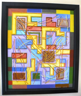 Abstract (2010)  Acrylic 20x24