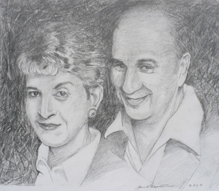 Aunt Theresa And Uncle Guy (2010)  Pencil 7.5x8.5