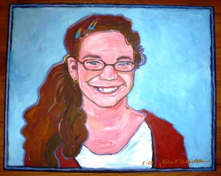 Sara (2005)  Acrylic 16x20