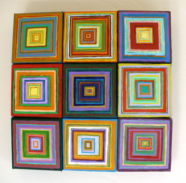 Abstract (2015)  Acrylic 15x15