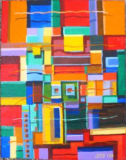 Abstract (2004)  Acrylic 11x14