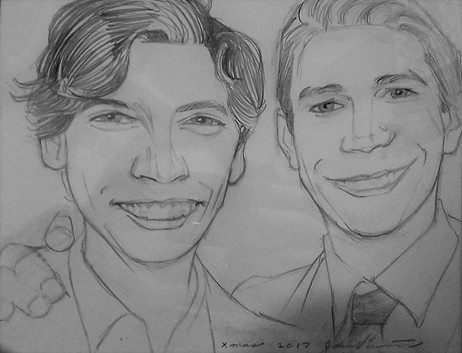 Jughead And Archie, Riverdale (2017) Pencil