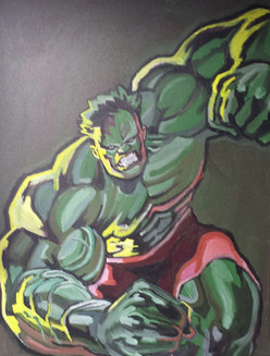 Hulk (2006)  Acrylic 18x14