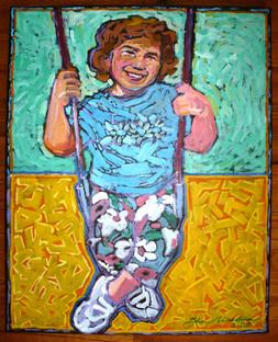 Kelly (2005)  Acrylic 16x20