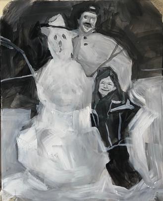 Three's Company (2018) Acrylic