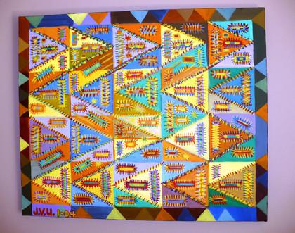 Abstract (2004)  Acrylic 20x24