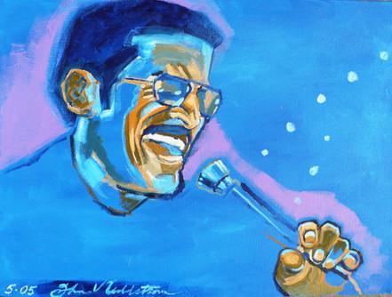 Sammy Davis (2005)  Acrylic 12x16