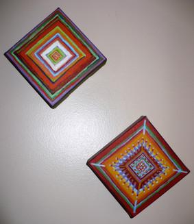 Squares (2006)  Acrylic 5x5