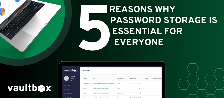 5 Reasons Why Password Storage is Essential for Everyone