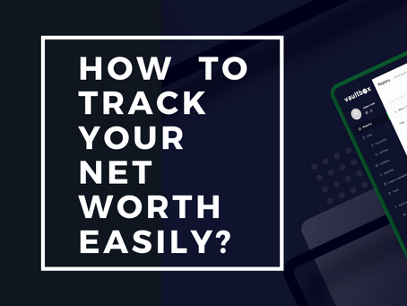 How to track your net worth easily?