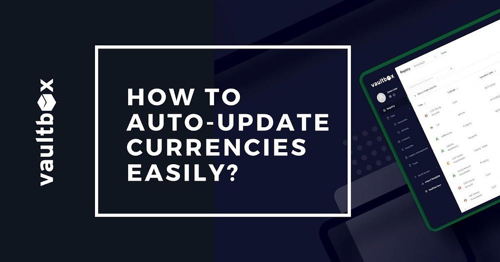 vaultbox - auto-update currencies