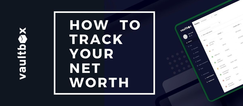 How to track your net worth
