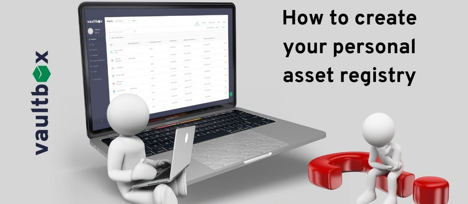 How to create a personal asset registry