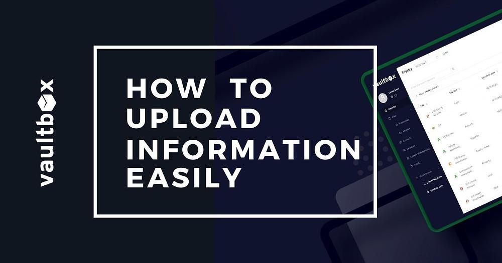 Easy file uploads