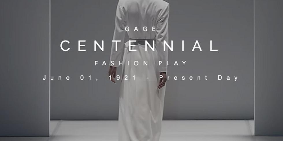 Gage Centennial Fashion Show