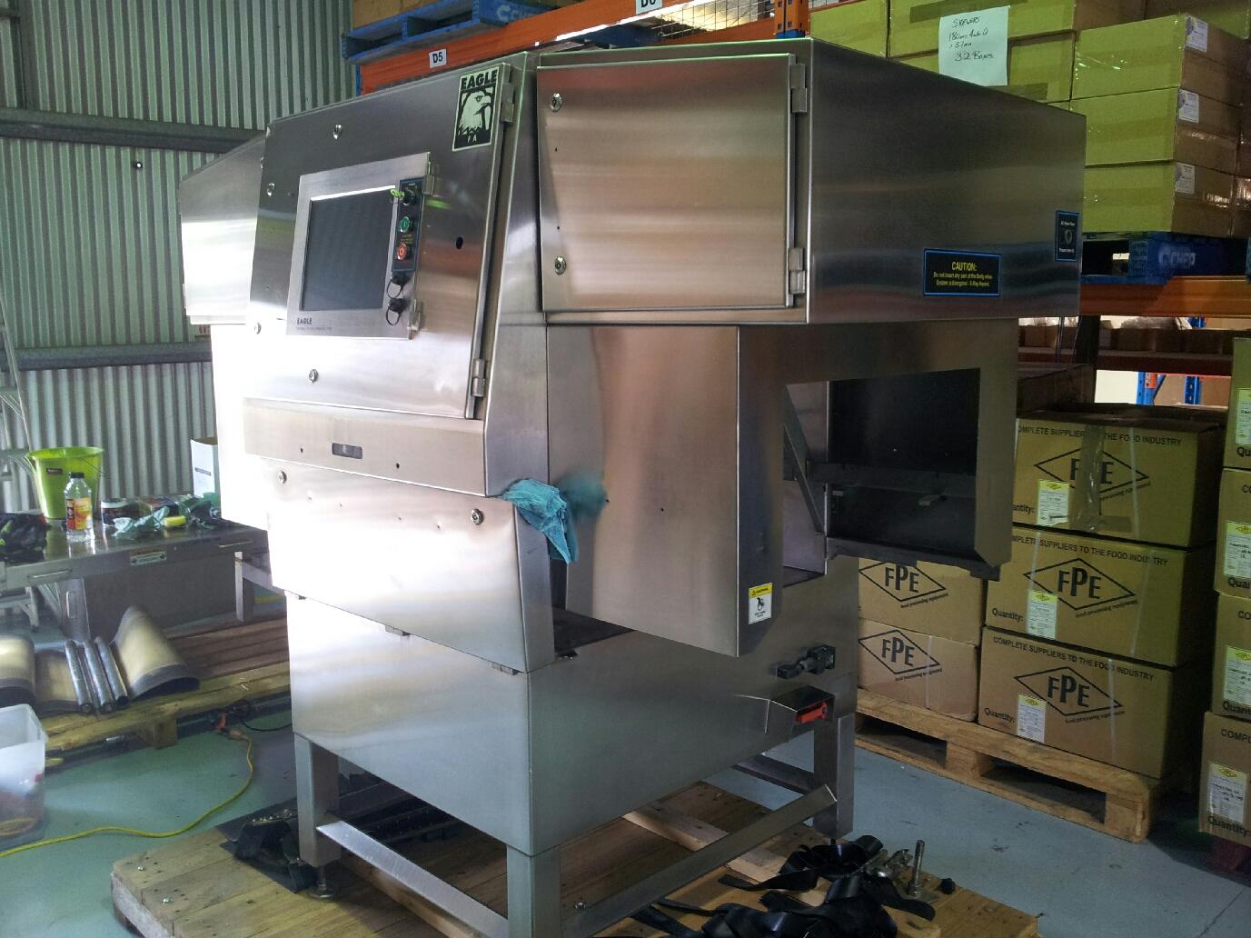 Stainless Steel machinery polishing and finishing