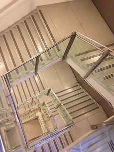 Stainless Steel Polishing Staircase