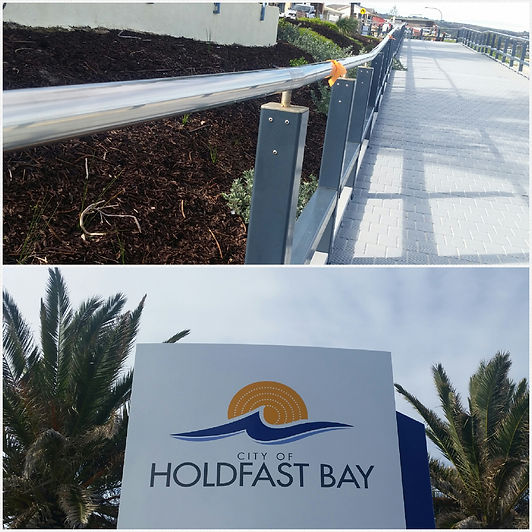 Holdfast Bay Project Stainless Steel Polishing