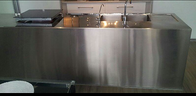 Kitchen Stainless Steel Polishing