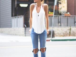 Ideas para combinar tus Jeans Rotos