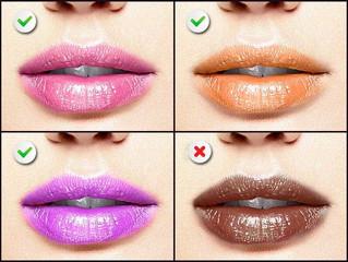 ¿Cuál es el tono de labial ideal según tu color de piel?