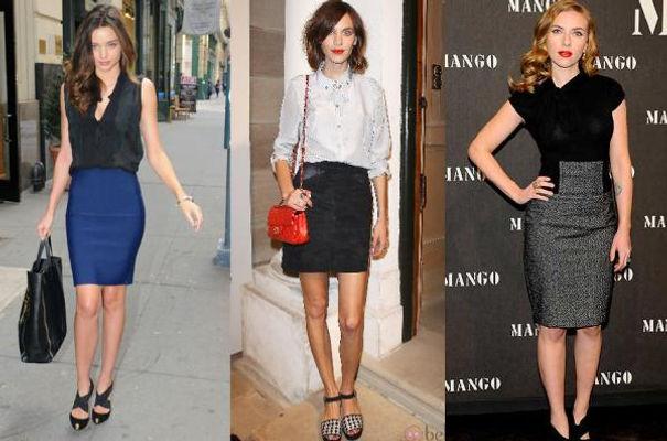 Este tipo de faldas son prendas clásicas que pueden utilizarse para  cualquier ocasión pues son ideales para lucir elegantes 2b7403981729