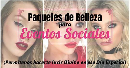 Maquillaje y Peinado Profesional para Eventos Sociales