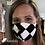 Thumbnail: Checkered Face Masks (adult)