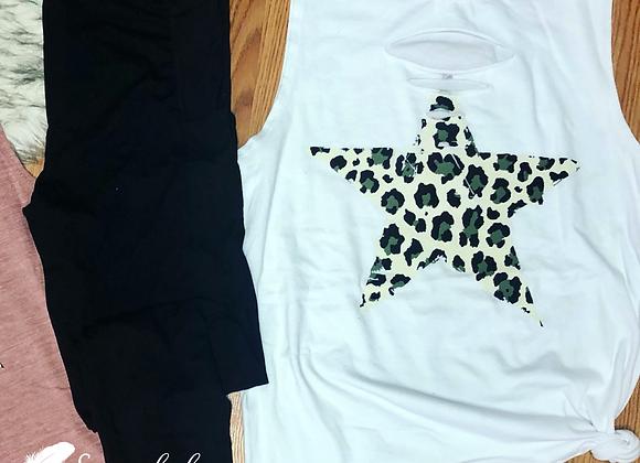 White leopard star