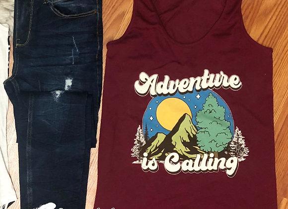 Adventure is Calling tank