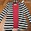 Thumbnail: Black & White striped cardigan