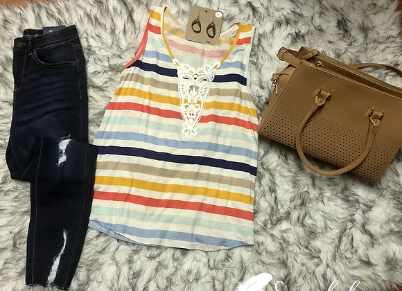 Multi striped tank