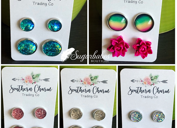 Crystal Earring sets