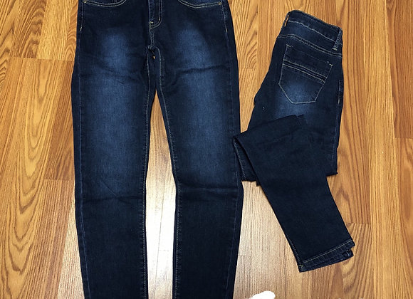Non-distressed skinny jeans