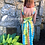 Thumbnail: Girl's tie dye dress