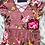 Thumbnail: Pink floral maxi dress