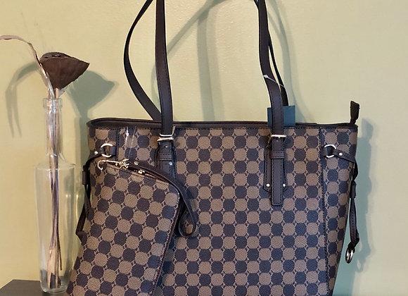 2 in 1 Shopper handbag