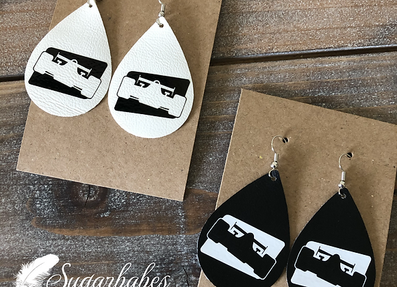 Indy Car Earrings