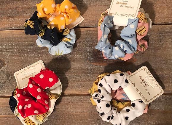 Summer scrunchie set