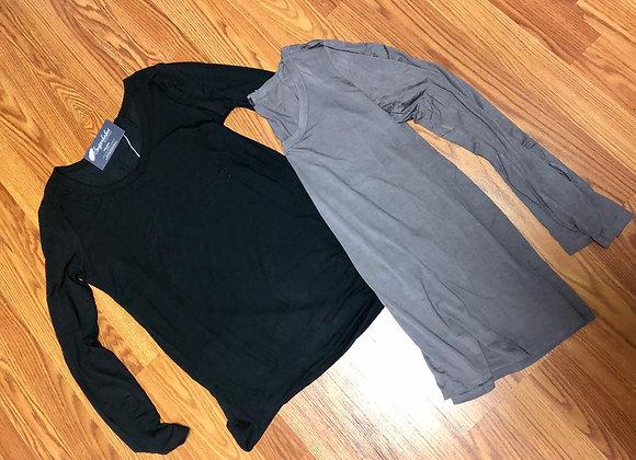 Basic vneck long sleeve top