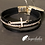 Thumbnail: Cross strand magnetic bracelet