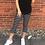 Thumbnail: Striped capri leggings