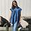 Thumbnail: Blue babydoll top