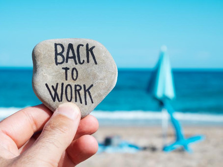 9 top tips to returning to work (or not)