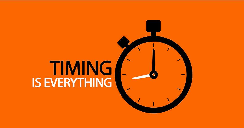 Timing is everything, Single Source Recruitment, Gloucestershire Recruitment, Tewkesbury Recruitment