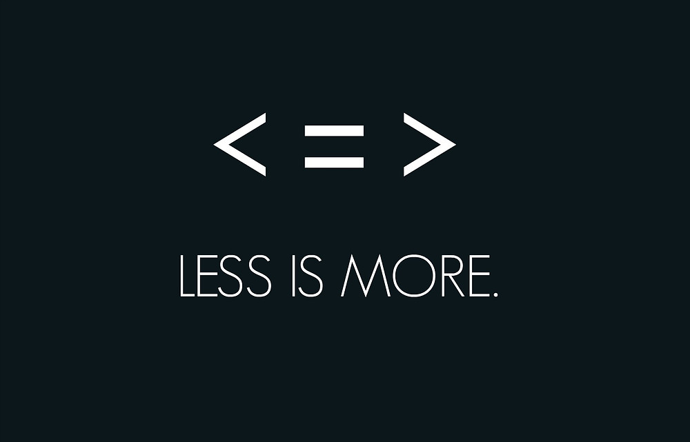 Less is more, Single Source Recruitment, Gloucestershire Recruitment, Tewkesbury Recruitment